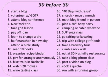 Things To Do Before You Turn 30 Men